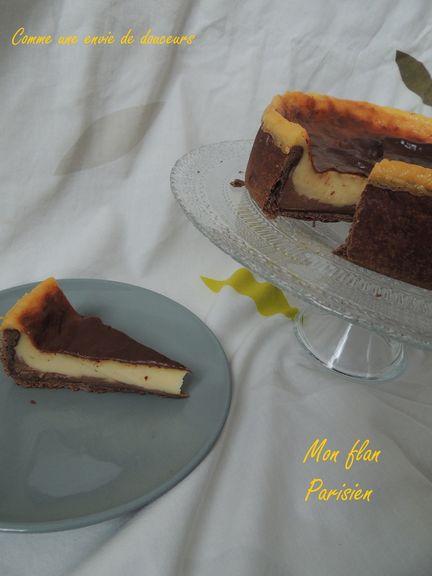 Mon flan Parisien – My Parisian custard tart