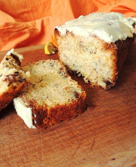 Cake glacé au citron gingembre & clémentine