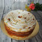 Tarte citron & noisette meringuée – Lemon & hazelnut meringe pie