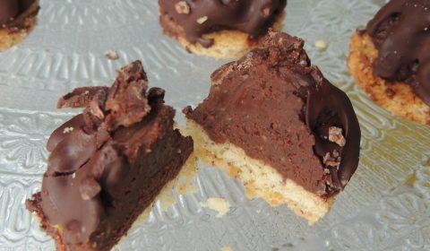 Flammes au chocolat - Chocolate flames