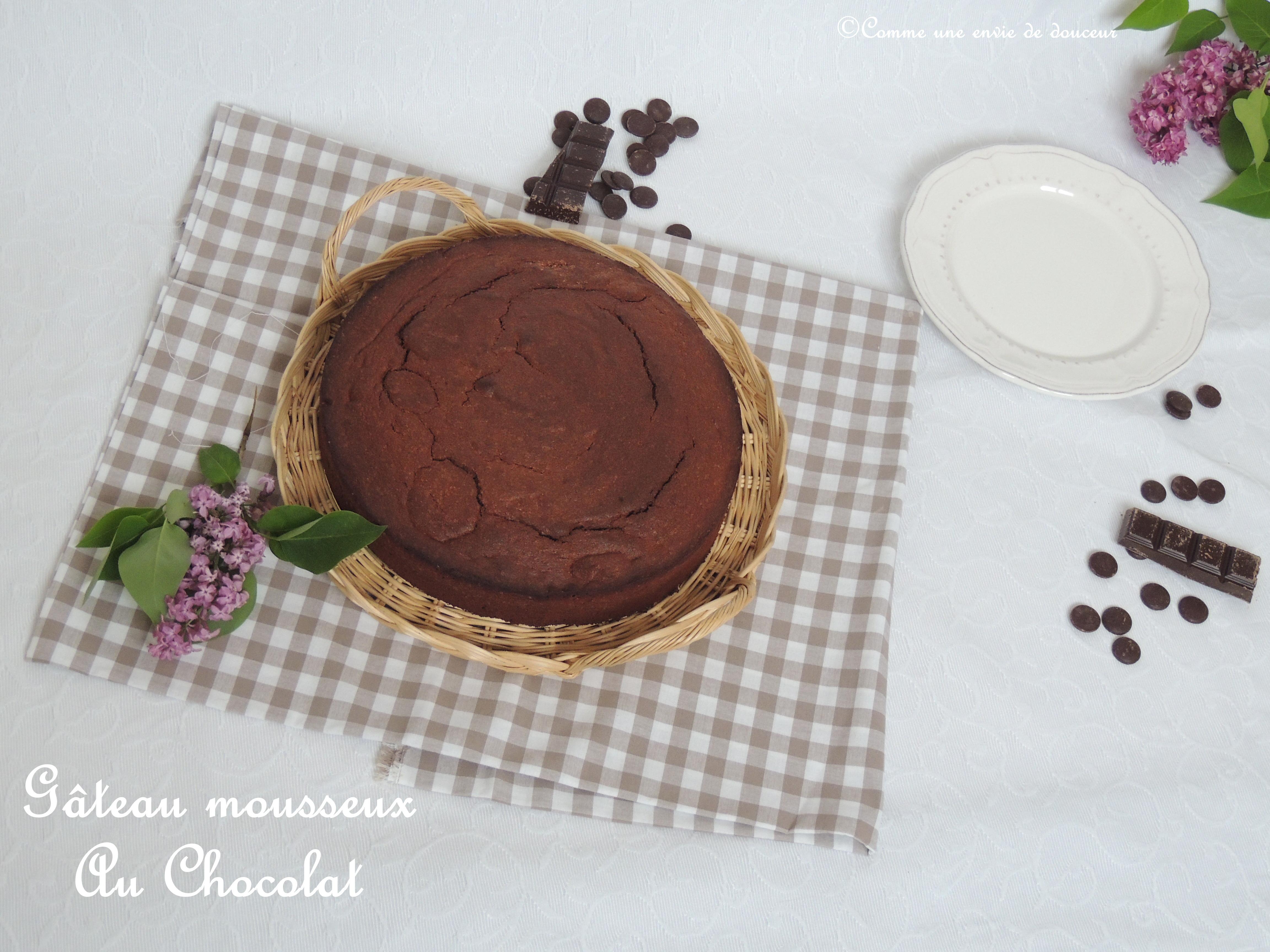 Gâteau mousseux au chocolat – Airy chocolate cake
