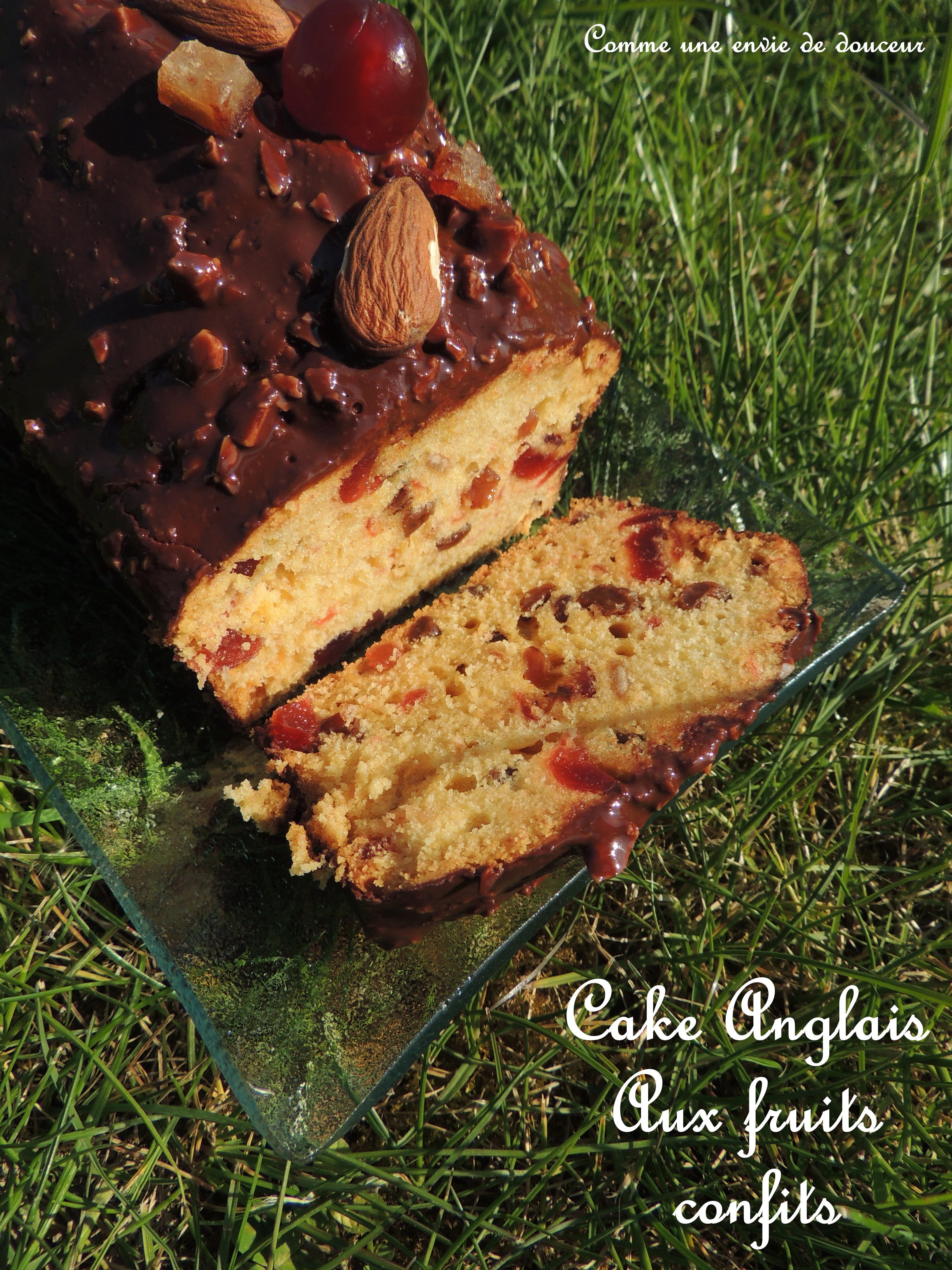 Cake anglais aux fruits confits – English cake