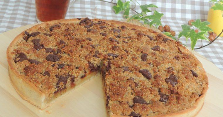 Tarte crumble aux pommes – Crumble apple pie