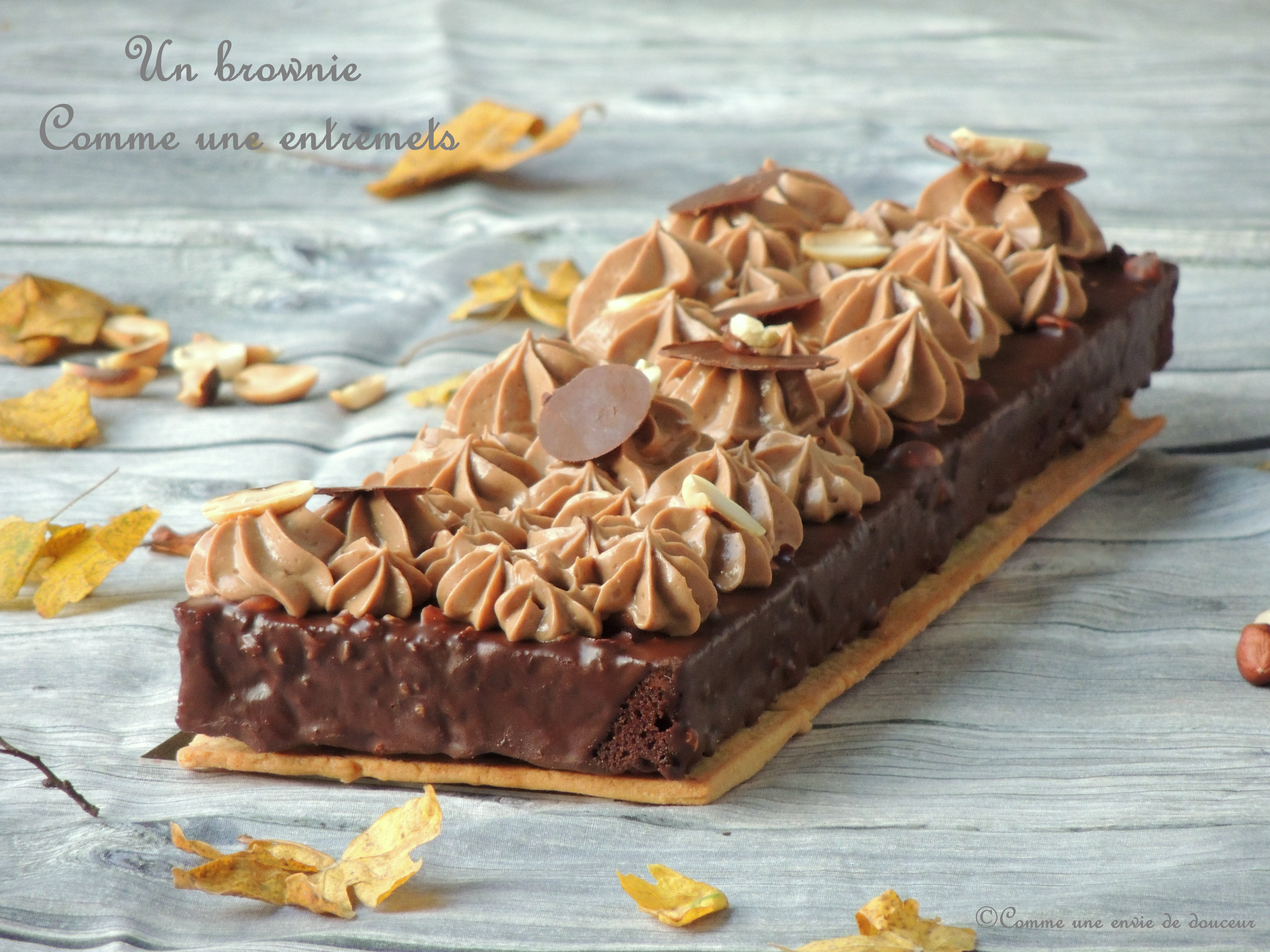 Brownie comme un entremets – Better than a brownie