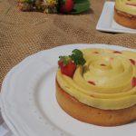Tarte fraise & verveine ~ Strawberry & vervain tartlets
