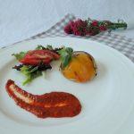 Dôme façon terrine aux légumes du soleil ~ Terrine like a dome with Mediterranean vegetables