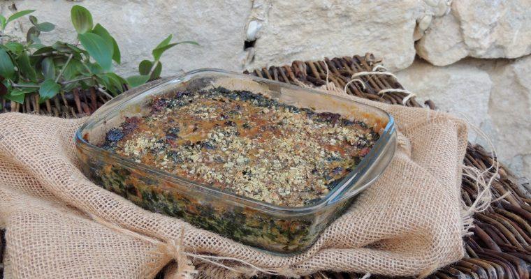 Gratin d'épinards ~ Spinach gratin