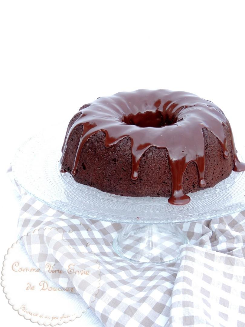 L'indécent Cake triple chocolat