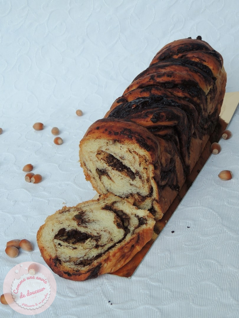 Babka chocolat noisette