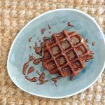 Gaufres de Liège cacao & leur sauce chocolat