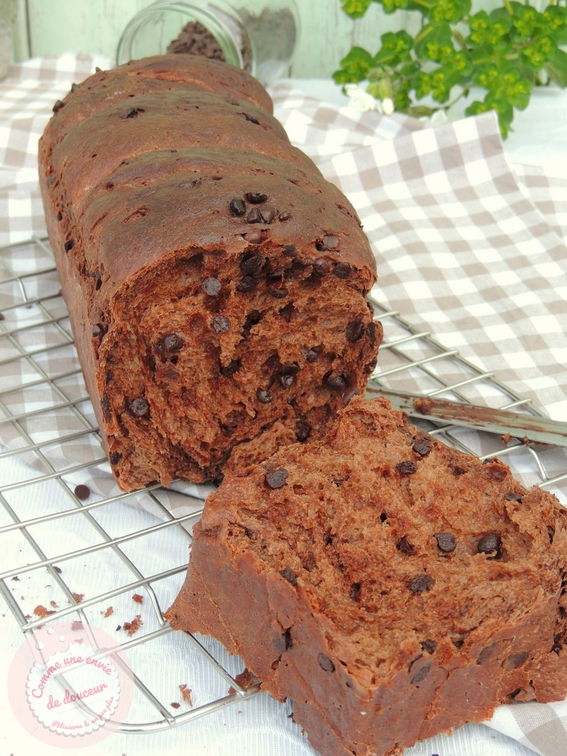 Brioche ultra filante & moelleuse ~ Double chocolat