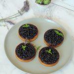 Tartelettes gourmandes ~ Panna cotta myrtille