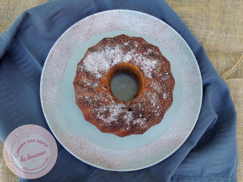 Gâteau de petit déjeuner ~ Ou gâteau blender