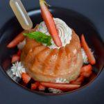 Baba carrément fraise ~ Crème diplomate